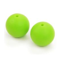 Bola de silicona 15 mm- Color Verde limon 26