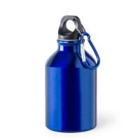 Botella de Aluminio capacidad 300 mL - Color Azul (grabar)