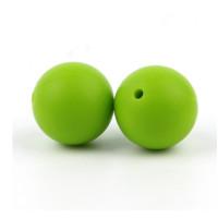 Bola de silicona 12 mm- Color Verde  17