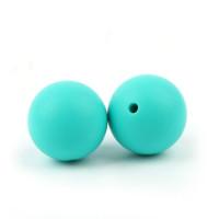 Bola de silicona 12 mm- Color Turquesa 22