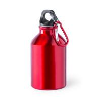 Botella de Aluminio capacidad 300 mL - Color Rojo (grabar)