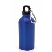Botella de Aluminio capacidad 400 mL - Color Azulon (grabar)