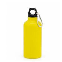 Botella de Aluminio capacidad 400 mL - Color Amarillo (grabar)