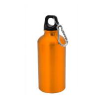 Botella de Aluminio capacidad 400 mL - Color Naranja (grabar)