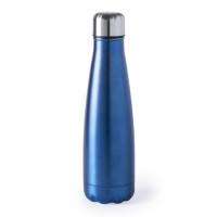 Botella de Acero capacidad  630 mL - Color Azulon ( grabar)