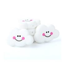 Nube sonrisa de silicona 27x22x8 mm- Color Blanco