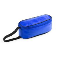 Portabocadillos almuerzo vuelta al cole - Isotermico - 21x7.5x8 cm - Color Azul