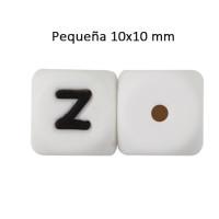 Cubo letra silicona 10x10 mm- Premium - Letra Z