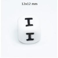 Cubo letra silicona 12x12 mm- Premium - Letra I