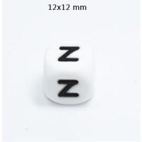 Cubo letra silicona 12x12 mm- Premium - Letra Z