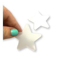 Plexy transparente frost - Estrella 50 mm, int 2 mm