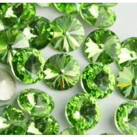 Chaton 1088 PP 32  cristal Swarovski Peridot ( verde) 4 mm - 16 uds