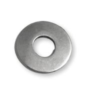 Colgante Zamak baño plata donut  grabar 38 mm. Grosor 2,5 mm
