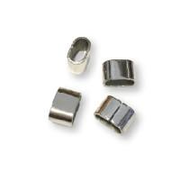 Pasador de acero inoxidable 13x9 mm Taladro 10x5 mm ( Grabar)
