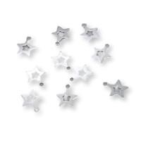 Colgante Plata de Ley - Estrella mini 7x6 mm