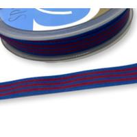 Cinta lazo bandera Blaugrana 10 mm ( 1 m)