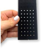 Pendiente nariz acero inoxidable - Brillantito 1.2 mm - 1 unidad
