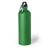 Botella de Aluminio capacidad 800 mL - Color Verde (grabar)