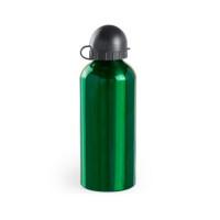 Botella de Aluminio capacidad 650 mL con dosificador y capucha - Color Verde (grabar)