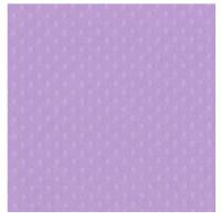 Papel scrap Bazzill embosado puntos 30x30 cm- Berry Pret ( lila)