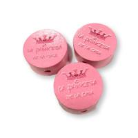 Figurita PREMIUM moneda La princesa de la casa - Rosa Claro 03