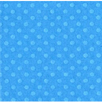 "Papel scrap Bazill embosado 12x12""""- Dotted Surf ( azul)"