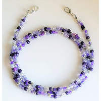Cuelgamascarillas  - 50 cm - Tonos lila, violeta, purpura