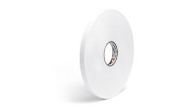 Cinta adhesiva libre acido doble cara 6 mm (50 metros)