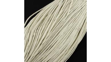 Cordon algodon encerado  1.5 mm beige ( 1 metro)