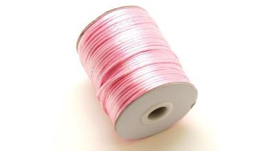 Cola de raton 2 mm color rosa bebe ( 1 metro)