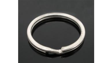 Anilla llavero plateada 25 mm  Color plata claro