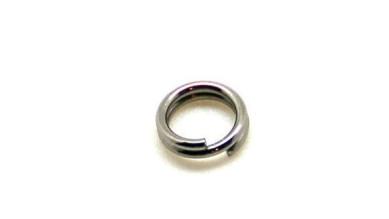 Anilla doble de acero inoxidable 6 mm ( 20 uds)