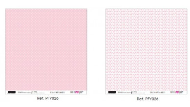 Papel doble cara 30x30 cm - Papers4you- Basicos PYF026