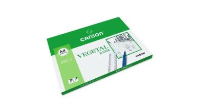 Papel A4- Vegetal Basik- Canson- 21x29.7 cm