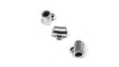 Portacolgante de Zamak anilla enganche 8x5.3mm, taladro 3 mm