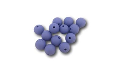 Bola de silicona 12 mm- Color azul pastel 2