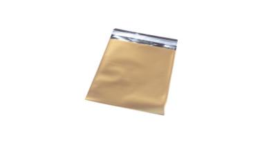 Bolsa sobre celofan brillante dorado 12x10 cm - 10 uds