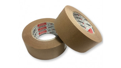 Cinta kraft engomada adhesiva cartonaje 48 mm ancho - 80 metros