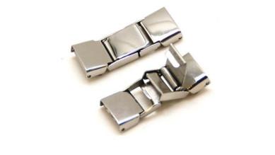Cierre acero inoxidable 31x11x4 mm, taladro 10 mm