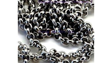 Cadena rolo acero inoxidable eslabon 4x4x1.5 mm  - 1 metro