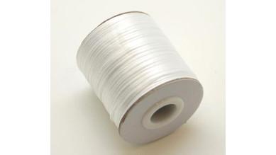 Cordon cola de raton 1 mm, color blanco ( 1 metro)
