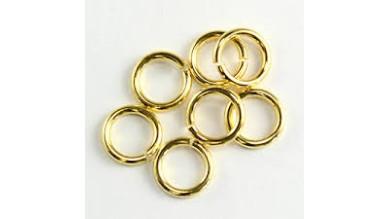 Anilla 3 mm dorada 10 gramos (400 uds  aprox)