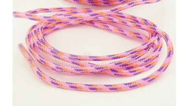 Cordón paracaidista 2.5 mm color rosa ( 1 metro)