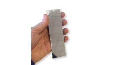 Base de marcapaginas de acero 12x3.5 cm