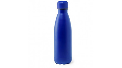 Botella de Acero capacidad  790 mL - Color Azul (grabar)